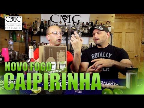 The Caipirinha, with Novo Fogo Silver Cachaca