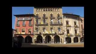 preview picture of video 'Plaza Mayor de Vic y Ruta Turística'
