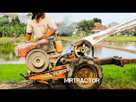 The Best Of Diesel Tractor Start Compilation รถไถนาเดินตาม