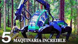 MAQUINAS INCREIBLES 2017 - Maquinaria Del Futuro Nivel Dios