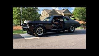 Making a Chevy Nova With NO DOORS Run Again-Finnegan's Garage Ep.73
