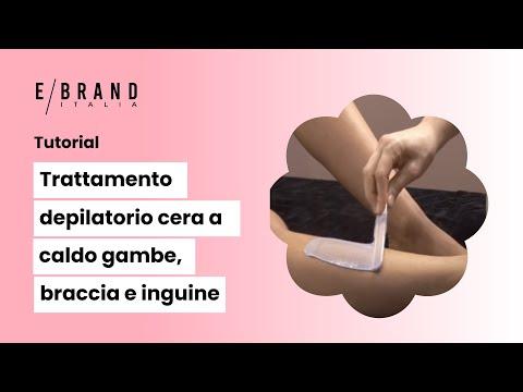 Come Depilarsi le Gambe - La Cera a Caldo