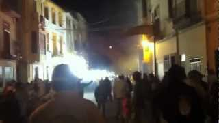 preview picture of video 'Correfocs 2012 Jérica'
