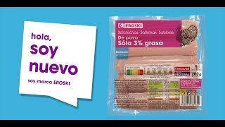 Eroski Nueva salchicha de pavo anuncio
