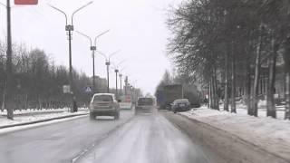 Погода преподнесла очередной сюрприз новгородским автовладельцам