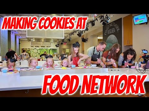 Making Cookies on the Food Network