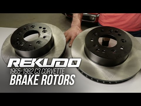 Rekudo Brake Rotors for 65-82 Corvette
