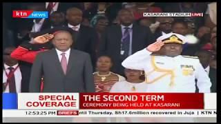 Kenyans celebrate Uhuru's inauguration