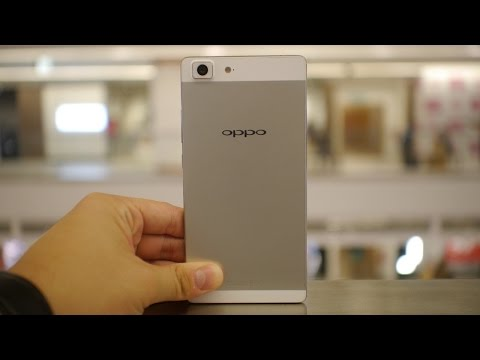 Gadget Review - Episode 70 - Oppo R5, the world's thinnest smartphone