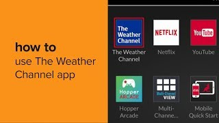 How to Use the Weather Channel App