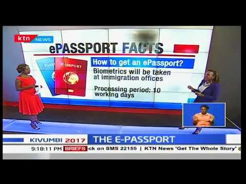 The use of the new E-passport