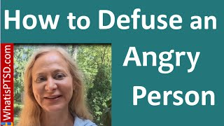 How To Defuse An Angry Person | Try The DATS Approach