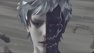 Nier Automata: Eve Boss Fight and Ending A (1080p 60fps)