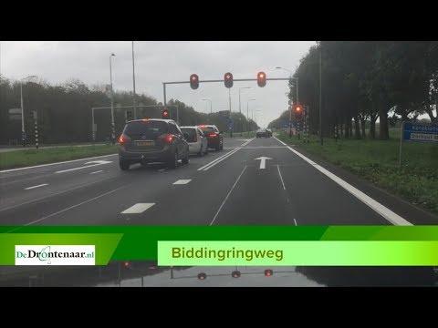 Provincie sluit Biddingringweg bij Biddinghuizen vier dagen overdag af