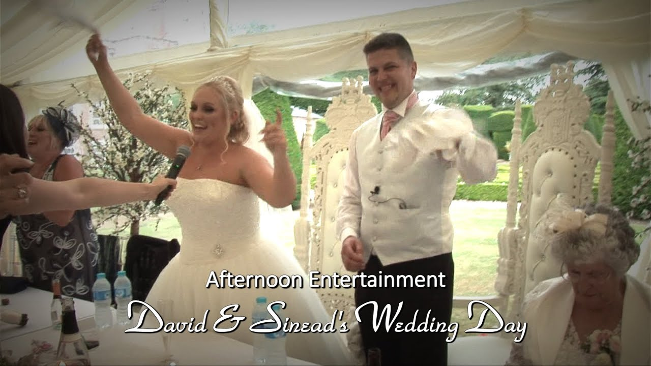 David & Sinead's Wedding:Afternoon Entertainment