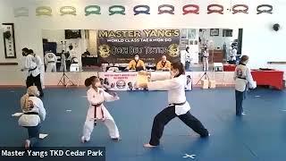 Black Belt Testing - 12 am - Shibhany, Alexis, Valeria