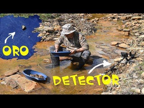 como encontrar oro en ríos con detector de metales gold prospecting