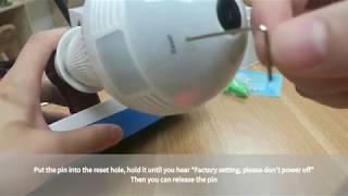 how to reset icsee bulb camera - Thủ thuật máy tính - Chia
