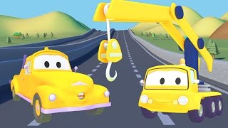 Tom The Tow Truck and the Crane in Car City |Trucks cartoon for children