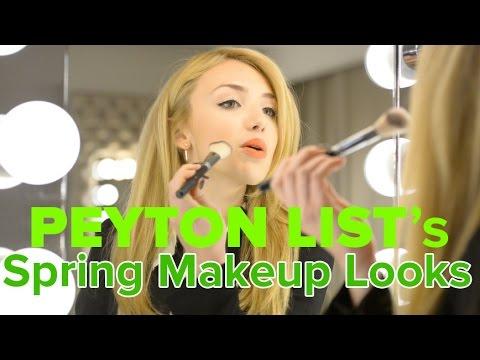 Peyton List's 3 spring makeup must-haves