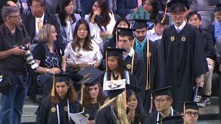 2018 Spring Commencement, Morning Bachelor