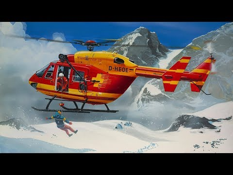 Seriál Medicopter 117 ingame, test low render quality