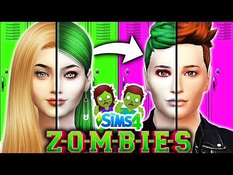 Disney ZOMBIES Characters OPPOSITE CHALLENGE!🧟♂️ Zombies vs Cheerleaders! | Disney ZOMBIES Sims 4