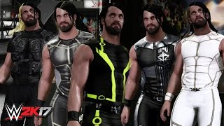 WWE 2K17 Creations: Seth Rollins Attire Bundle! (PS4)