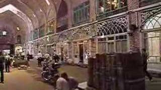 preview picture of video 'A Walk In Tabriz's Bazar'