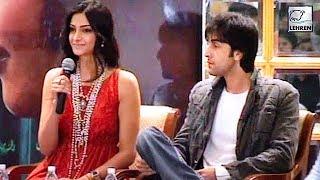 Sonam Kapoor and Ranbir Kapoor At Saawariya Press