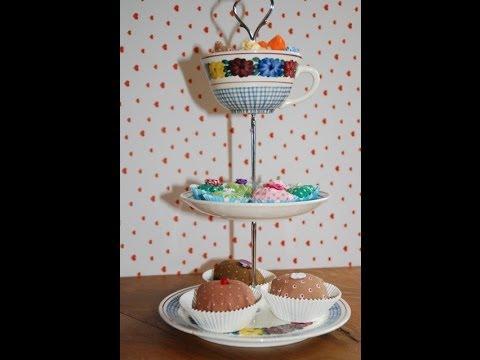 Nähanleitung für Pralinen aus Stoff (Muffins & Bonbons)