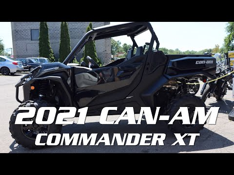 2021 Can-Am Commander XT 1000R in Enfield, Connecticut - Video 1