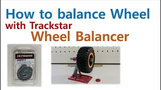[ How To Balance RC Tire ] The Easiest Way To Balance Wheel