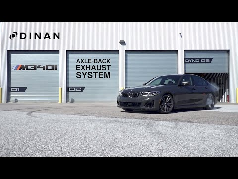 Dinan G20 M340i Axle-Back Exhaust - Sound Clip