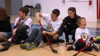 Blind Hockey G.O.A.L. Clinic