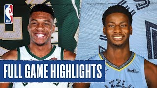 BUCKS at GRIZZLIES | FULL GAME HIGHLIGHTS | December 13, 2019