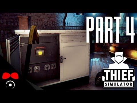 TREZORY A ŠPERKY! | Thief Simulator #4