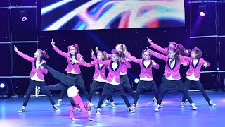 FIRECRACKERS - 1st Place Hip Hop Group Kids / Dance Fest Novi Sad 2014 / AQUA