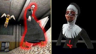 МОНАХИНЯ СТАЛА ГИГАНТОМ И СУПЕР МЕЛКОЙ! - The Nun   Монахиня   Evil Nun