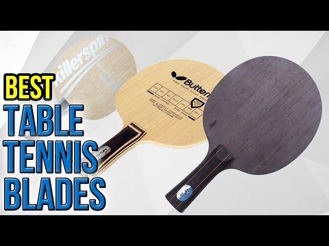 6 Best Table Tennis Blades 2017