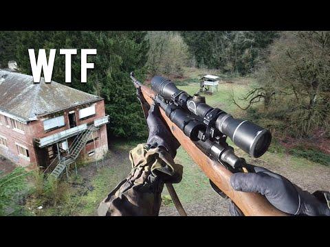Counter Sniper Mission - WW2 Airsoft War with ORIGINAL Kar98K