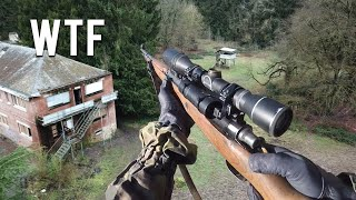 1942 German Made Kar98K Converted to Airsoft Gun - Counter Sniper Mission