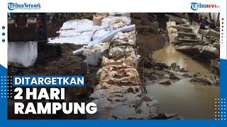 Jokowi Tinjau Perbaikan Tanggul Sungai Citarum yang Jebol, Targetkan 2 Hari Rampung