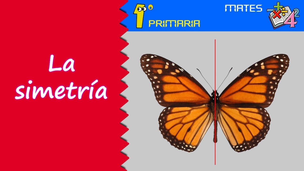 Matemáticas. 1º Primaria. Tema 9: La simetría