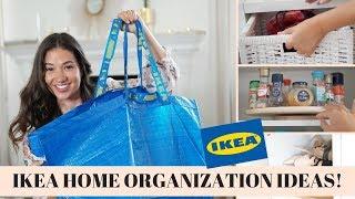 IKEA HOME ORGANIZATION IDEAS + HAUL! Elisabetta Pistoni