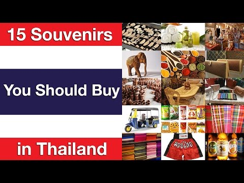 Video 15 Souvenirs You Should Buy in Thailand