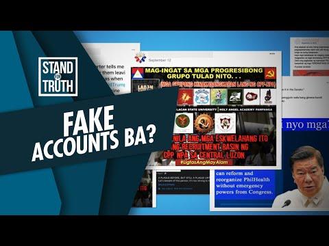 [GMA]  Stand for Truth: Ilang accounts na tinanggal ng Facebook, konektado sa PH military at police?