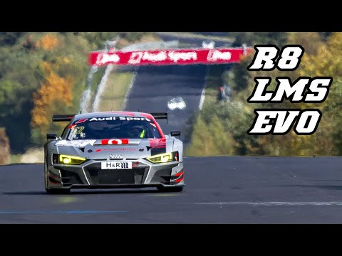 2018 AUDI R8 LMS EVO - first race on Nordschleife 2018