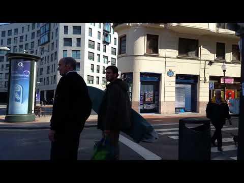 Walking tour of bilbao Spain pt.6