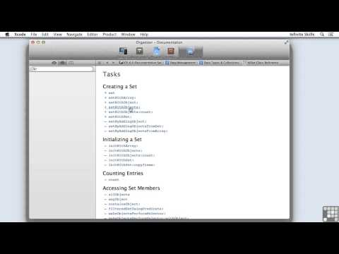 Objective C Programming Tutorial | Working With Sets